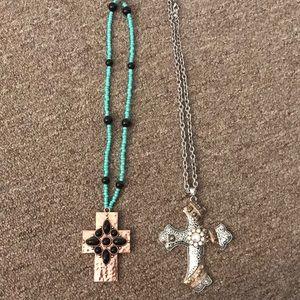 Women's Western Cross Necklaces!